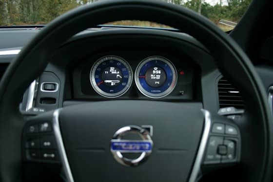 Volvo XC60 D5 Polestar Instrument Display