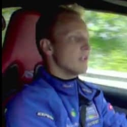 Mikko Hirvonen drives a Ford Focus RS500