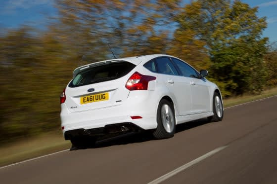 Ford Focus Zetec S Rear