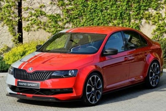 Skoda Wows With Rapid Sport Concept