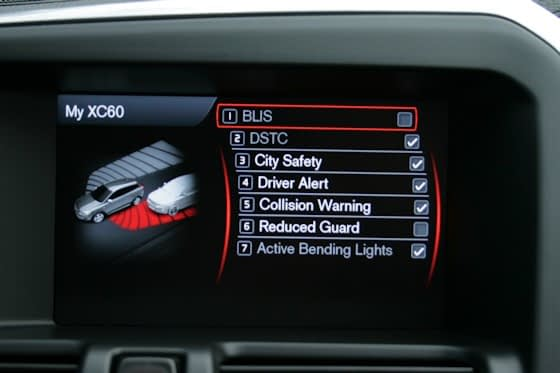 Volvo XC60 Safety Systems