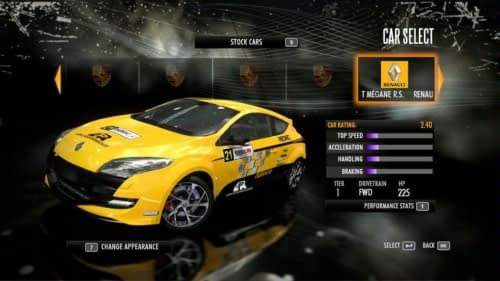 Renaultsport Megane 250 In NFS Shift