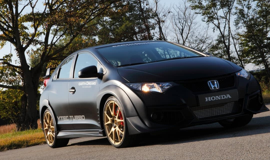 Civic Type R Shaping Up Nicely