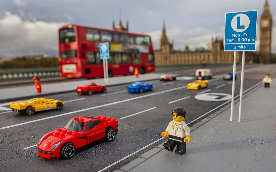 Lego Returns With Ferrari And Shell