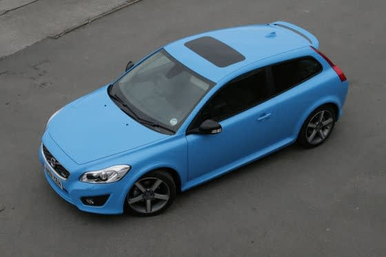 Volvo C30 T5 Polestar From Above
