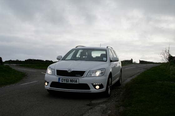 Skoda Octavia vRS TDI – Great White