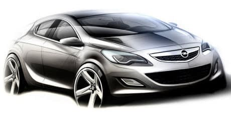 Vauxhall Astra VXR Concept