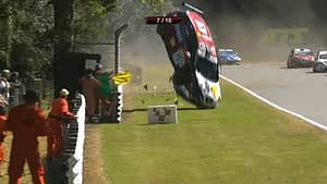 Seat Leon Eurocup Brands Hatch Crash
