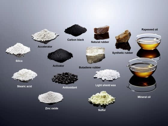 Ingredients In A Tyre