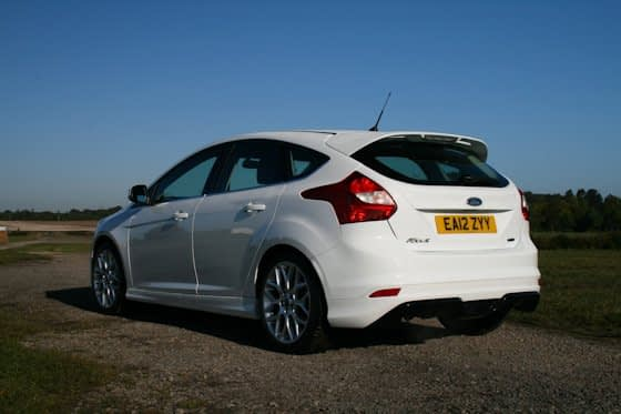 Ford Focus Zetec S Ecoboost Rear