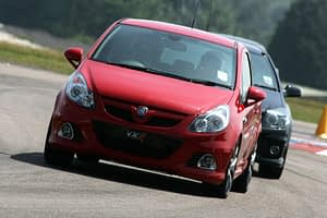 Vauxhall VXR Power Events 2010