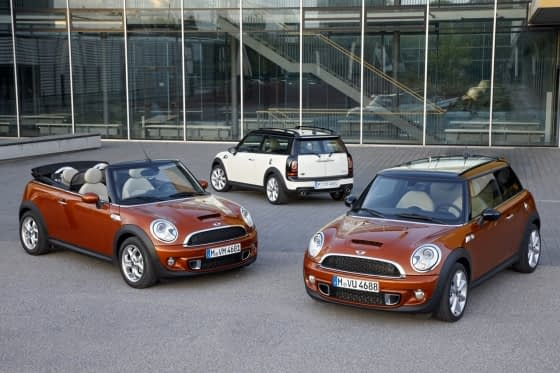 Mini Facelift 2010