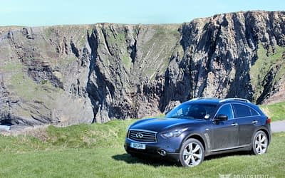 Infiniti QX70 3.0d Review