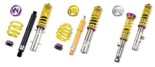 KW Coilover Suspension For VW Polo