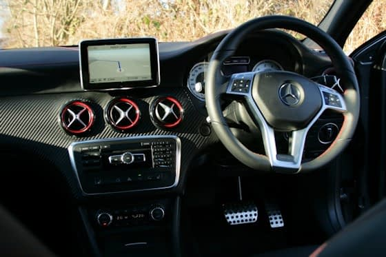 Mercedes-Benz A250 Engineered By AMGDashboard