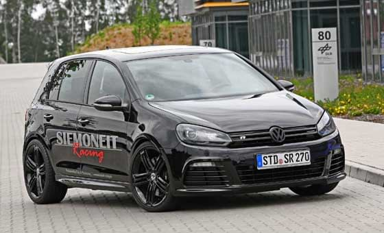 Black Pearl Volkswagen Golf R