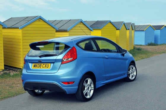 Ford Fiesta Zetec S Rear