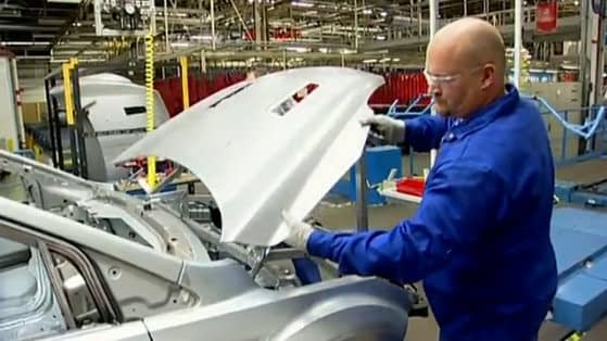 Ford Focus RS500 Production