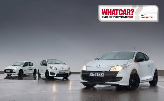Renaultsport What Car Winners 2011