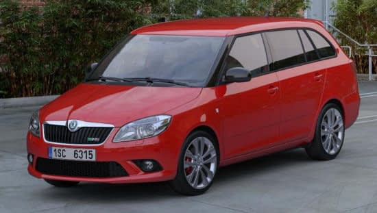 Skoda Fabia vRS Estate