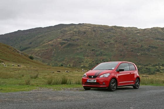 SEAT Mii Wrynose Pass