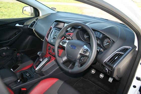 Ford Focus Zetec S Ecoboost Dashboard