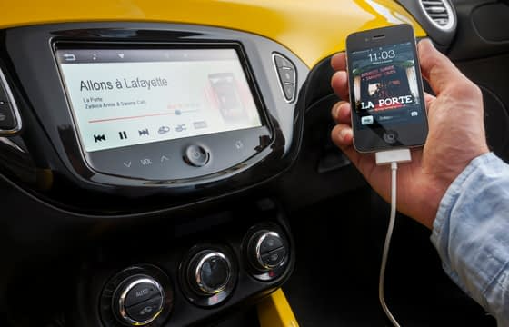 Vauxhall Adam Multimedia