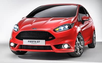 Ford Fiesta ST Appears As Concept (Video)