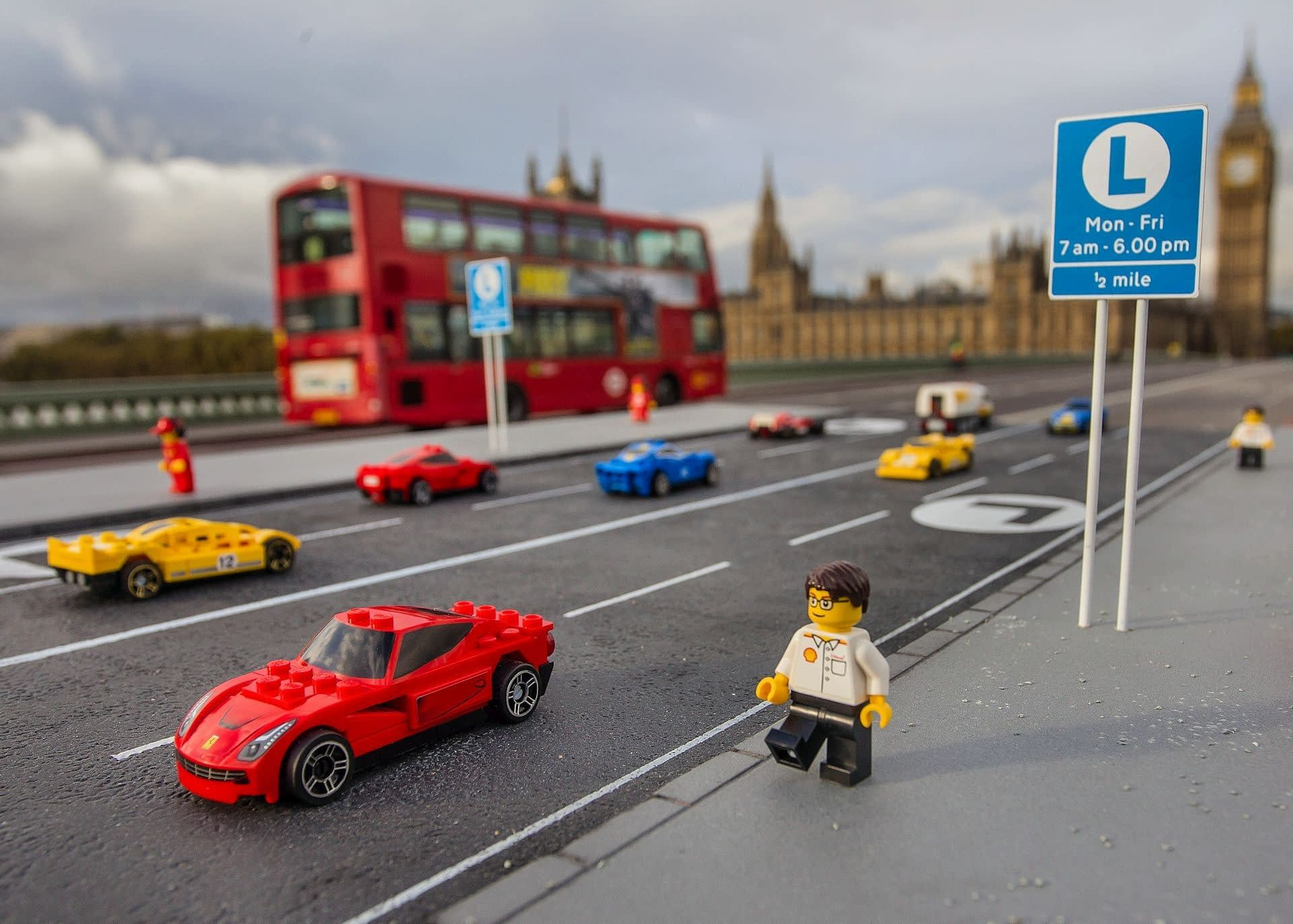 Lego Westminster Bridge