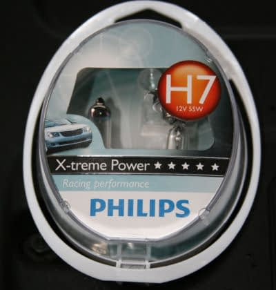 Fitting Philips Xtreme Bulbs