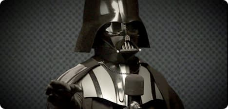 Darth Vader On Tom Tom