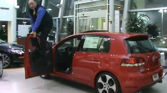 Volkswagen Golf Salesman Door Test
