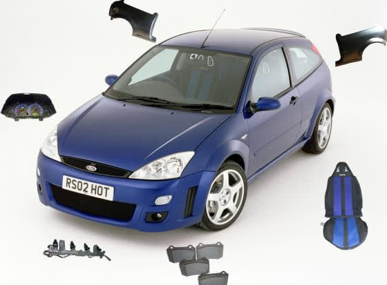 Ford Focus RS Spares